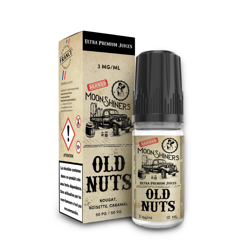 Old nuts Moonshiners 10 ml