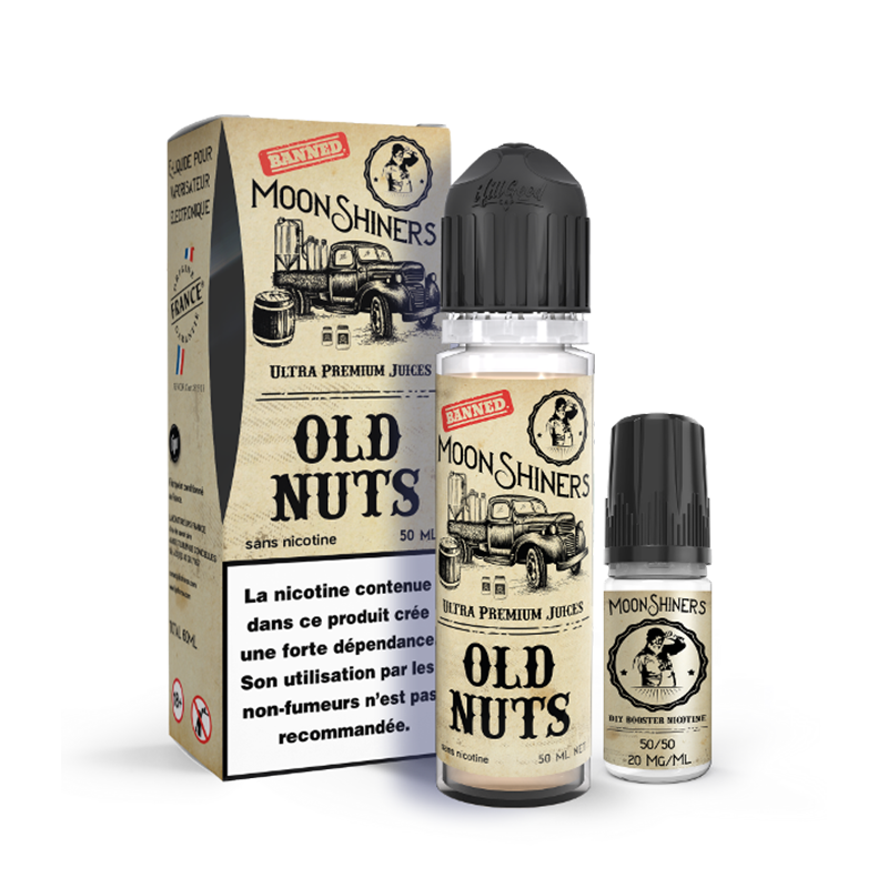 Old nuts Moonshiners 50 ml