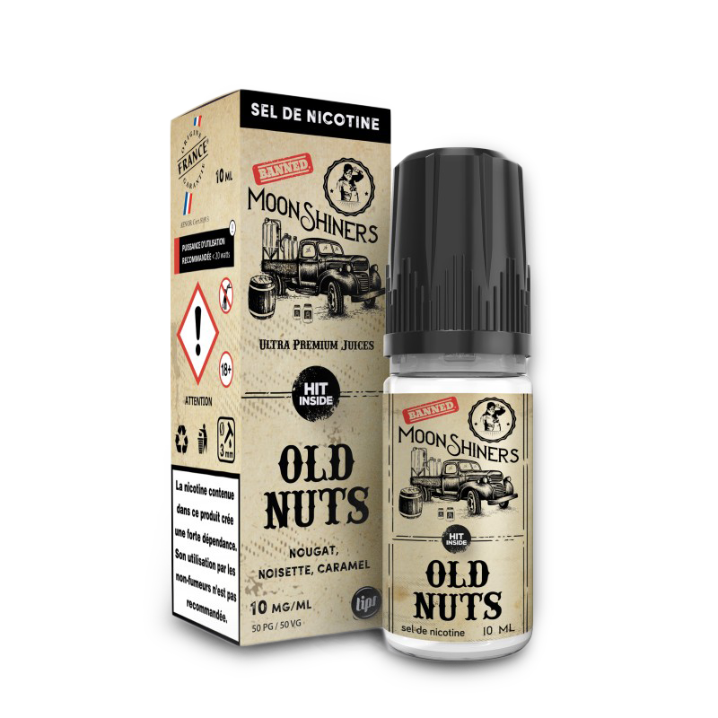Old nuts Moonshiners Sel de nicotine